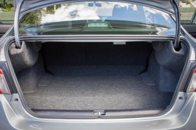 2015 Subaru WRX CVT trunk