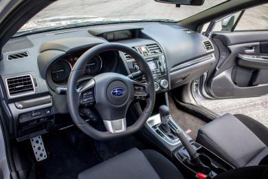 2015 Subaru WRX CVT dashboard