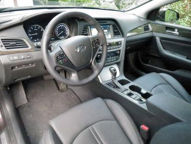 2015 Hyundai Sonata Limited dashboard