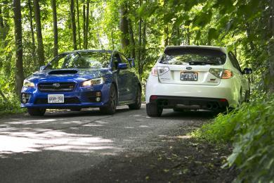 Comparison Test: 2015 Subaru WRX STI vs  2011 Subaru WRX STI