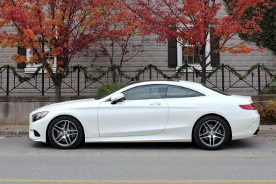 2015 Mercedes-Benz S 550 Coupe