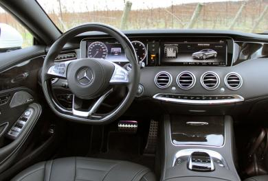 2015 Mercedes-Benz S 550 Coupe driver's seat