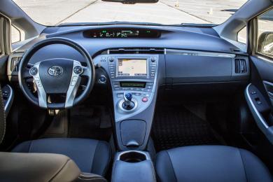 2015 Toyota Prius PHEV dashboard