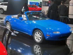 Historic Mazda Miata