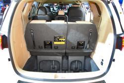 2015 Kia Sedona trunk with third row up