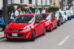 2015 Nissan Micra driving event