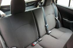 2015 Nissan Micra rear seats