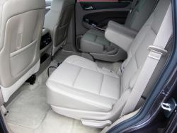 2015 Chevrolet Tahoe rear seats