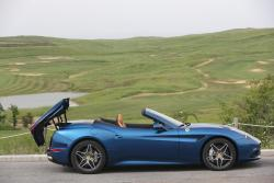 2015 Ferrari California T roof partially stowed