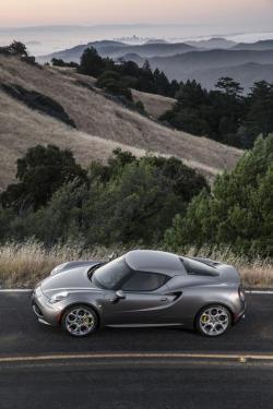 First Drive: 2015 Alfa Romeo 4C luxury cars first drives alfa romeo