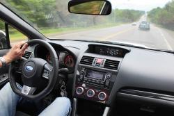 2015 Subaru WRX STI dashboard