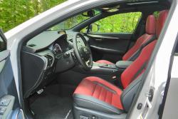 2015 Lexus NX front seats