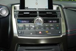 2015 Lexus NX HVAC controls