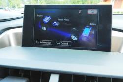 2015 Lexus NX centre stack display