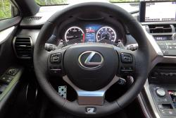 2015 Lexus NX steering wheel