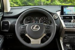 2015 Lexus NX 200t steering wheel
