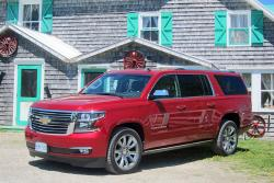 First Drive: 2015 Chevrolet Suburban trucks first drives chevrolet