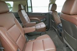 2015 Chevrolet Suburban rear seats