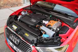 2015 Audi A3 e-tron engine bay
