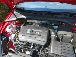 2015 Volkswagen GTI engine bay