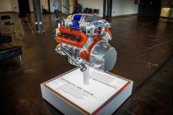 2015 Dodge Challenger Hellcat engine display