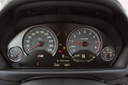2015 BMW M3 gauges