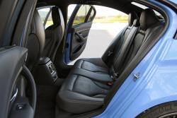 2015 BMW M3 rear seats