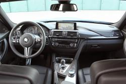 2015 BMW M3 dashboard