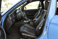 2015 BMW M3 front seats
