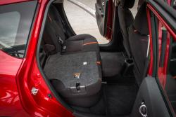 2015 Nissan Versa Note SR rear seat folded