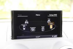2015 Audi A3 MMI menu