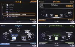 2015 Audi A3 MMI menus
