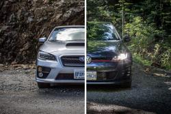 Comparison Test: 2015 Subaru WRX CVT vs 2015 Volkswagen GTI DSG