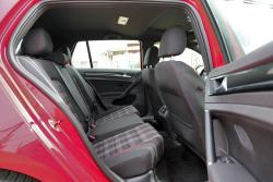 2015 Volkswagen GTI rear seats