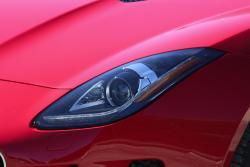 2015 Jaguar F-Type Coupe V6S headlight