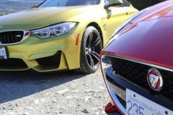 2015 BMW M4 vs Jaguar F-Type Coupe