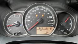 2015 Toyota Yaris LE gauges