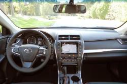 2015 Toyota Camry dashboard