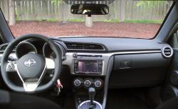 2015 Scion tC dashboard