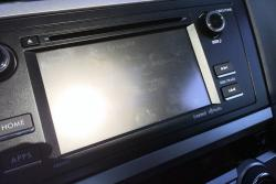 2015 Subaru Legacy 2.5i infotainment display glare