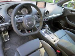 2015 Audi S3 dashboard