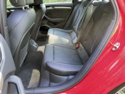 2015 Audi S3 rear seats