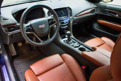 2015 Cadillac ATS Coupe 2.0L dashboard