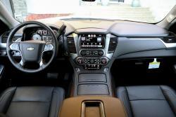 2015 Chevrolet Tahoe dashboard