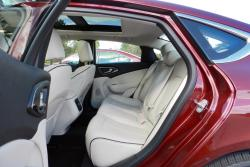 2015 Chrysler 200C AWD rear seats