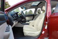 2015 Subaru Legacy 3.6R Limited front seats