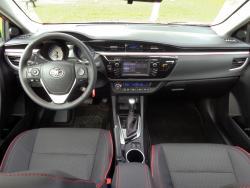 2015 Toyota Corolla 50 Anniversary Special Edition dashboard
