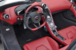 2015 McLaren 650S Spider dashboard