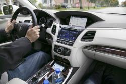2015 Acura RLX Sport Hybrid SH-AWD dashboard