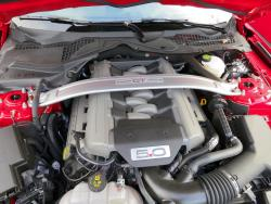 2015 Ford Mustang GT Premium engine bay
